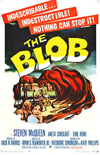 "The Blob Movie Poster  Replica 13x19"" Photo Print"