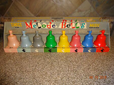 Vintage No. 575 Knickerbocker Musical Toys MELODE BELLS in Box Swiss Type