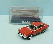 NOREV / MICRO / GLAS V8 2600 1967 ROUGE HO 1/87