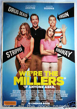 Movie Poster WE'RE THE MILLERS 2013 Jennifer Aniston - Comedy Crime Film