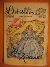 LISETTE N° 30 du 25/07/1948 -28 ème année -éditions de Montsouris