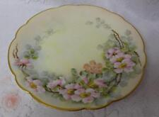 Vintage Limoges Hand Painted Blooming Tree Branches Decorative Plate