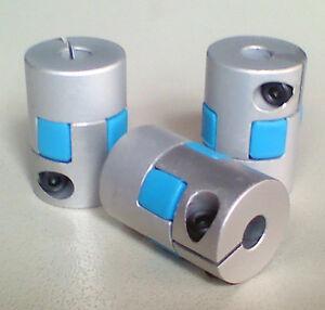 "3x 1/4"" Flexible Coupling for coupler Cnc Servo step Motor Encoder Stepper"
