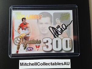 2015 Select Honours 2 Case Card Signature Paul Williams Sydney Swans LOW #15