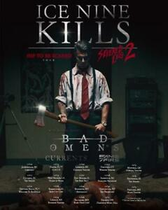 Ice Nine Kills - Tour 2021 Posters   Unframed Paper Posters
