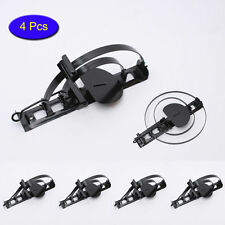 4 Pcs Foothold Coilspring Mouse Trap Snare Double Steel Bar Snap Rodent Mole Rat