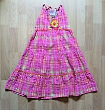 Pink Maxi Sundress Girls Size 6X 100% Cotton by Rare Editions