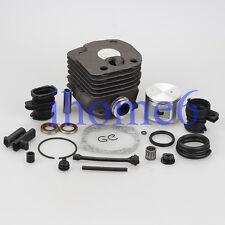 52mm Cylinder Piston Pin intake manifold kit For Husqvarna 362 365 371 372 372XP