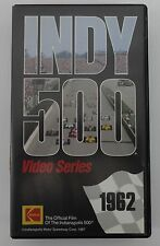 1962 Indianapolis 500 VHS Tape Rodger Ward Leader Card 500 Roadster Watson Offy