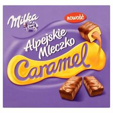 Milka Ptasie Mleczko - CARAMEL Aerated Candies -350g - Shipping Worldwide -