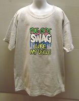 I'VE GOT SWAG LIKE MY UNCLE All Colors Kids T-Shirt 6 Months To 18-20 THE BEST