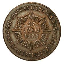 OLANDA UTRECHT Lustrum Utrechts Studentencorps 1876 Penning - 240° Anniversario