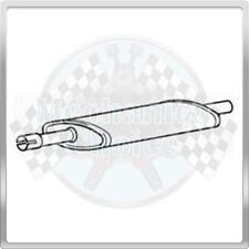 Centre Exhaust Silencer for Fiat Barchetta 1.8 (01/01-07/03)