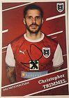 Christopher Trimmel, Nationalteam ÖFB, sign. AK *AUSTRA*Union Berlin*Rapid*