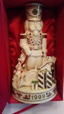 1999 Lenox Porcelain Toy Soldier with Tree and Gifts