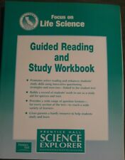 Prentice Hall LIFE Science 7th Grade 7 Guided Reading and Study Workbook