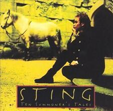 STING - Ten Summoner's Tales (CD 1993) USA Import EXC