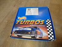 Hot Wheels Turbo's COLLECTION Shop Counter Top Display EMPTY BOX FOR TOY CARS