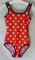 Girls Evie Angel Red White Polka Spot Dot Swimming Costume Swimsuit Age 4 Years