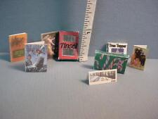 Christmas Items - Asst'd - Handcrafted Dollhouse Miniature