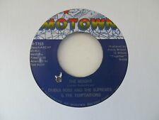 """DIANA ROSS AND THE SUPREMES & THE TEMPTATIONS The Weight USA 7"""" EX Cond"""