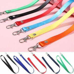 Fashion Neck Strap Lanyards Hanging Rope Badge Holder Lanyard ID Card Holder