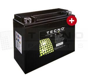 TECNO GEL-Marken-Batterie Y50-N18L-A Honda GL 1200, D, Goldwing, E, 1984, SC14