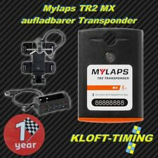 Mylaps TR2 MX-Transponder inkl. 1 Jahre Funktion aufladbar inkl. Zubehör NEU