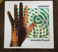 "Vintage 1986 Genesis ""Invisible Touch"" LP - Atlantic Records (81641) NM+"