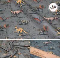 "Dinosaur Premium Printed 100% Cotton Craft Fabric High Quality High Quality 58"""