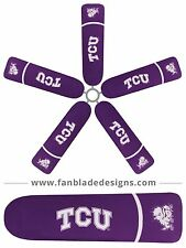 Texas Christian University Ceiling Fan Blade Covers