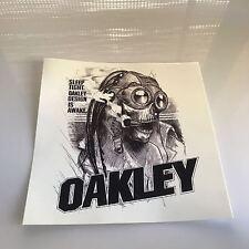 "New OAKLEY Medusa VINYL STICKER / DECAL 6""X6"" bob romeo medusa elite xx ap vest"