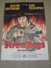 WER GEWALT SÄT Filmplakat Poster Plakat DUSTIN HOFFMANN Straw Dogs SAM PECKINPAH