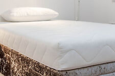 Small Double (3/4) Quilted Mattress Cover/Protector - Fully Zipped Encasement