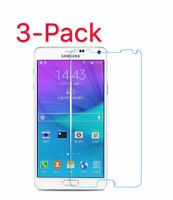 3-Pack Tempered Glass Screen Protector for Samsung Galaxy S5 S7 S8 S9 Note 3 4 5