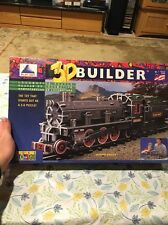 NIB Play Hut 3D Builder Locomotive Puzzle Made In USA