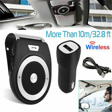 Wireless Handsfree Auto Car Speakerphone Kit Speaker Phone Visor Clip