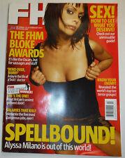 FHM UK Magazine Alyssa Milano & Know Your Enemy February 2004 031815R