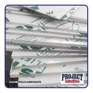 CLEAR POLYCARBONATE SHEET  LEXAN MAKROLON PALSUN U.V protected High Impact