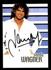 Sandy Wagner Autogrammkarte Original Signiert ## BC 88677