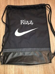 Nike Anthony Rizzo Foundation Black Backsack  Backpack Just Do It Unisex Rizz 44