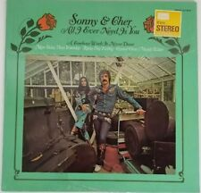 Sonny and Cher - All I Ever Need Is You (1972) Vinyl  LP  Stereo KS 3660
