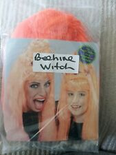 Beehive Witch wig orange