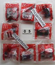 MIP SET of 8 McDonald's 2005 HOT WHEELS ACCELERACERS Diecast Cars COMPLETE