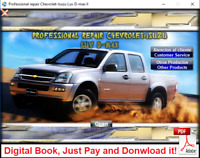 WORKSHOP MANUAL OR REPAIR MANUAL ISUZU / CHEVROLET LUV DMAX 2002 - 2006