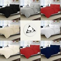 100% EGYPTIAN COTTON 200 / 300 THREAD COUNT DUVET COVER BED SET