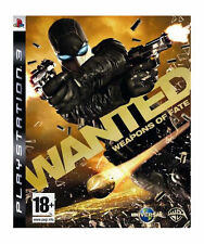 Wanted: Weapons of Fate PS3 New And Sealed (Sony PlayStation 3, 2009)