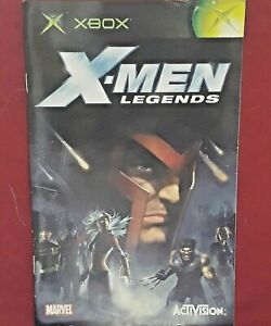 Manual only NO GAME - X-Men Legends  Xbox