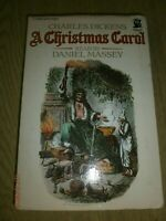 Audio Books Cassette Tapes x 2 Charles Dickens A Christmas Carol Daniel Massey