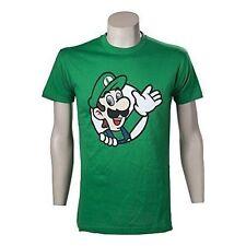 Nintendo super Mario Bros. Luigi Waving Small T-shirt Green